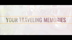 Stock After Effects of Your Travel Memories