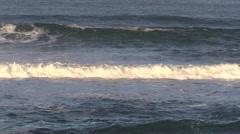 California Coastal Waves Stock Footage