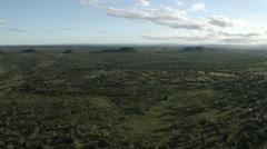 Aerial Afican Bush Limpopo - stock footage