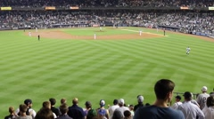Yankee Stadium from bleachers (4 of 4) Stock Footage