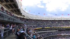 Stadium Upper Deck - stock footage