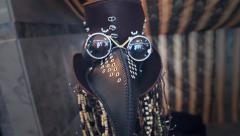 Plague Doctor Mask Stock Footage