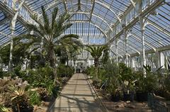 Kew Gardens,Temperate House Stock Photos