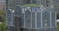 Office Buildings in Almaty, Kazakhstan (4K) Stock Footage