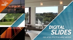 Digital Slides - After Effects Template Stock After Effects