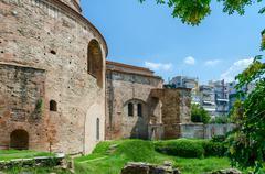 Greece, Thessaloniki, tomb of Roman emperor Galerius Stock Photos