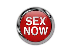 Sex Now Curved On A Glossy Push Button Piirros