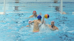 Water Polo Action 7 Stock Footage