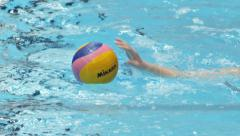 Water Polo Action 9 - stock footage