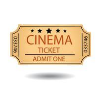 Cinema tickets Stock Illustration