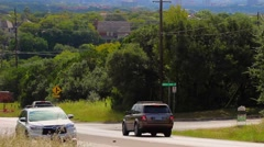 Austin, Tx shot from the hill country Stock Footage