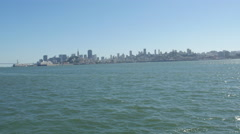 Panoramic 4K view of San Francisco Stock Footage