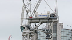 The Balfour Beatty building in London Stock Footage