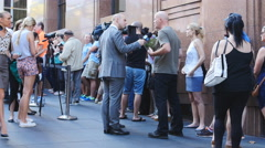 Lindt siege Sydney cafe reopens 1 4K Stock Footage