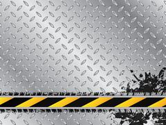 Industrial background with tire treads - stock illustration