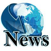 news - stock illustration