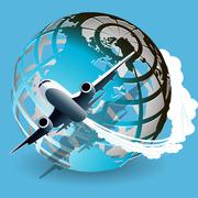 aviation - stock illustration