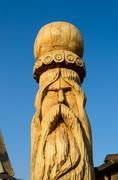 Wooden sculpture Stock Photos