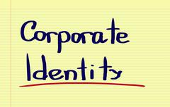 Stock Photo of Corporate Identity Concept