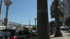 San Francisco Ferry Building Stock Footage