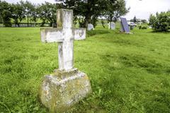 Grave Marker - stock photo