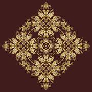 Orient  Pattern. Abstract Ornament - stock illustration