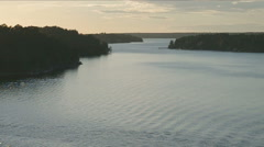Baltic sea archipelago landscape. Stock Footage