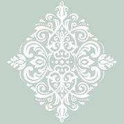 Stock Illustration of Damask  Pattern. Orient Ornament
