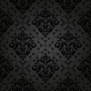 Wallpaper in the style of Baroquen. Abstract  Background - stock illustration