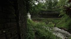Fast Flowing Minnehaha Falls Stock Footage