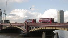Vauxhall Bridge London | HD 1080 Stock Footage