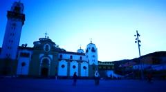 4K UHD Basilica de Candelaria Candelaria Tenerife island Canary islands Spain Stock Footage