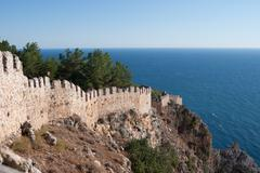 Castle of Alanya Stock Photos