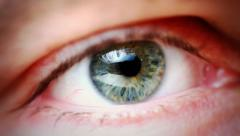 Eye Detail Stock Footage
