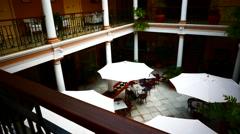 4K UHD La Laguna Unesco Hotel Aguere Tenerife island Canary islands Spain Stock Footage