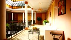 Stock Video Footage of 4K UHD La Laguna Unesco Hotel Aguere Tenerife island Canary islands Spain