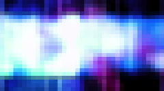 Retro Pop Art Color Tiles Loop Stock Footage