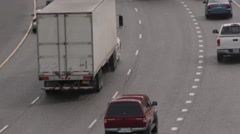 Outgoing Highway Traffic 1 Stock Footage