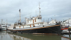 Trawler in Steveston, British Columbia, Canada. Stock Footage