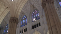 St. Patricks Cathedral Catholic Church. - stock footage
