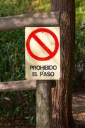 Forbidden Pass Stock Photos