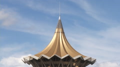 Parliament of Sarawak, Kuching, Malaysia Stock Footage