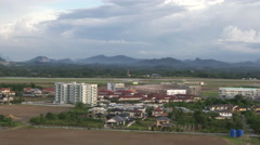 The city of Kuching, Malaysia Stock Footage
