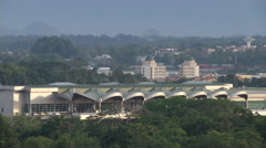 Kuching International Airport, Malaysia Stock Footage