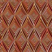 Seamless pattern. Modern stylish texture. Repeating geometric tiles with brow - stock illustration