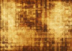 Digital Algorithm Concept Illustration. Golden Digital Background. Stock Illustration