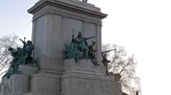 Monument to Garibaldi. Rome, Italy Stock Footage
