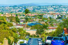 San Diego Cityscape Kuvituskuvat