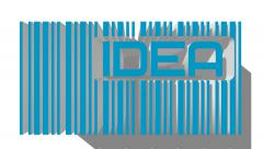 Bar code with idea text within Stock Footage