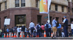 Lindt siege Sydney cafe reopens 7 4K Stock Footage